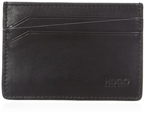 f5c91cf1dcff Amazon.com: HUGO Hugo Boss Men's Subway 4 Cc Card Holder, black, One ...