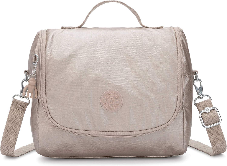 """Kipling Kichirou Insulated Lunch Bag, Metallic Glow, 9""""L X 8""""H X 5""""D"""