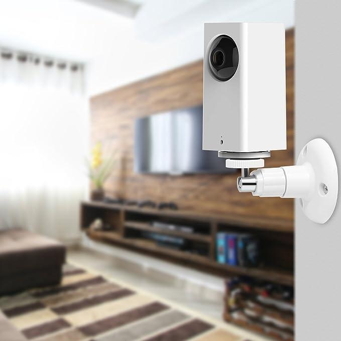 misura standard supporto indoor e outdoor di sicurezza regolabile per Wyze Cam pan e altre fotocamere con stessa interfaccia Fastsnail Wyze Cam pan Wall Mount 2/confezione