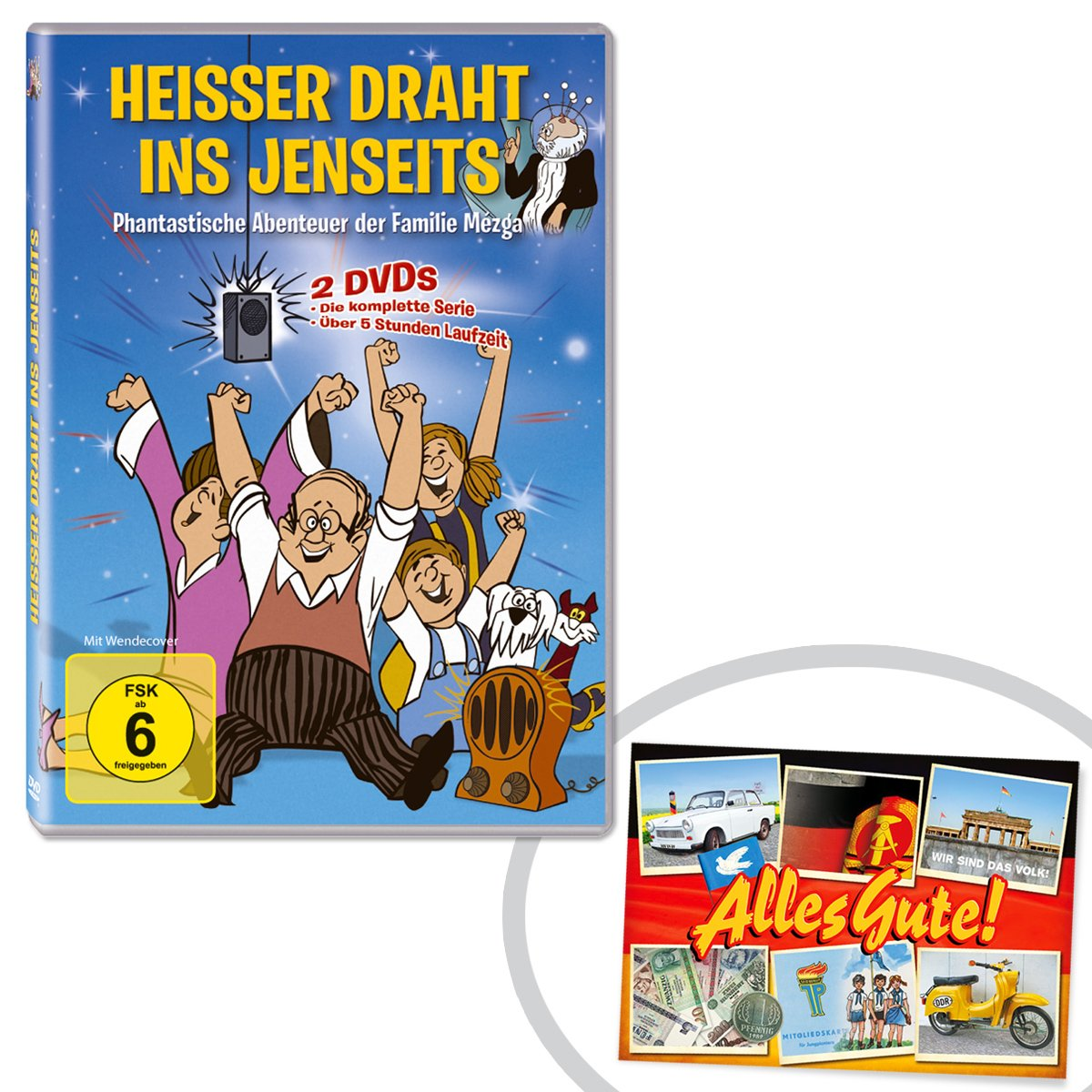 DVD Heisser Draht ins Jenseits 2 DVDs + Bonus DVD ++ DAS Ostprodukte ...