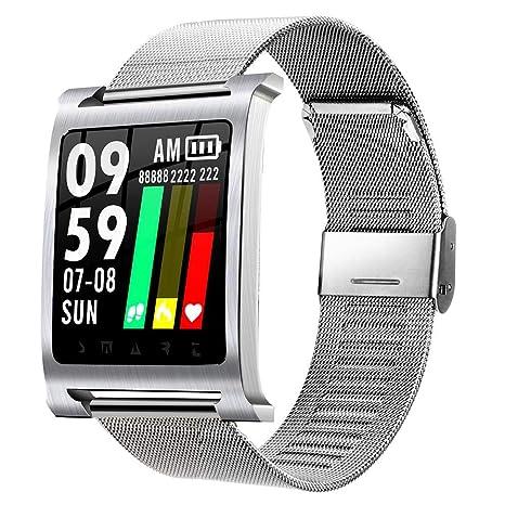 Reloj Inteligente Pulsera Pantalla Completa Táctil Colorido 3D Impermeable UI Medidor Deportivo Paso Contando Información De