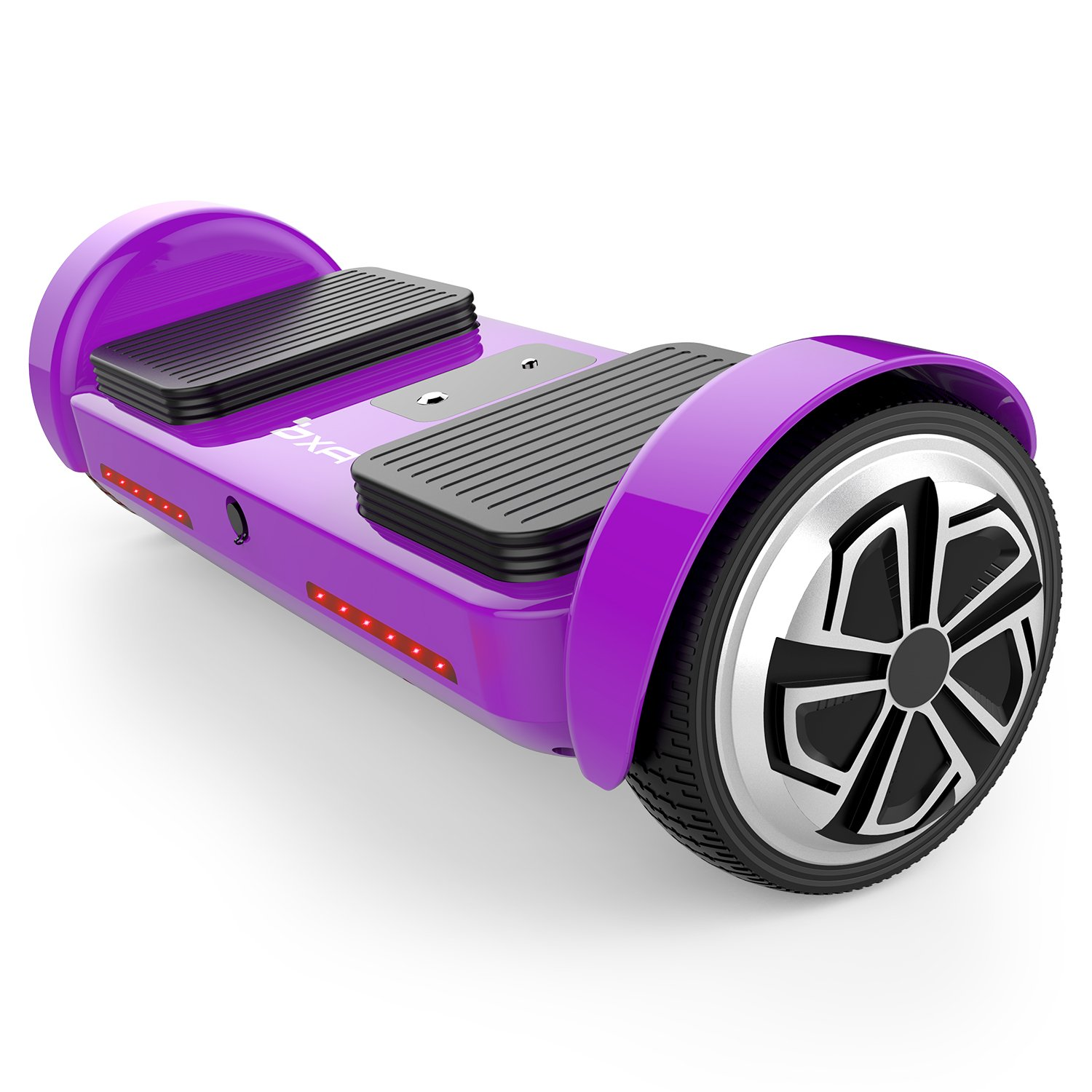 OXA Hoverboard - UL2272 Certified Self Balancing Scooter with Bluetooth Speaker and Headlights, 20 lithium batteries (144 Wh) ensure 17 km range on a single charge, 2 modes for all ages (2) by OXA