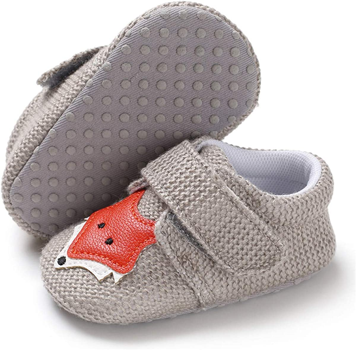 Baby Non-Slip Soft Soled Cotton Shoes Toddler Unisex First Walkers Socks Shoes