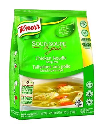 Knorr Soup du Jour Mix Chicken Noodle 13.3 oz, Pack of 4