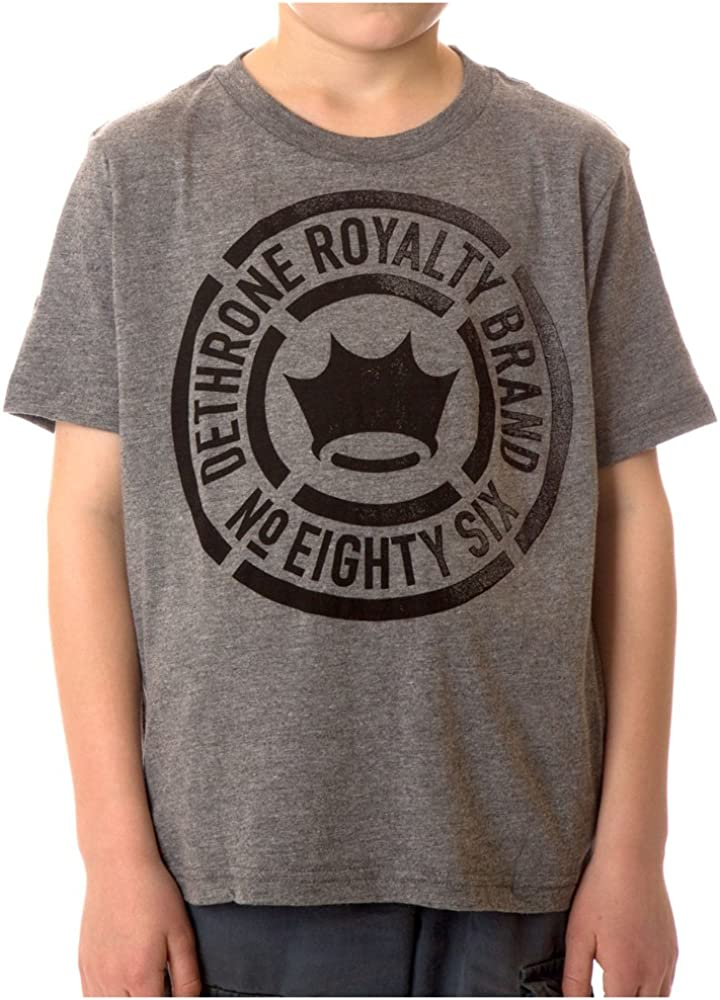 Dethrone Kids Faded T-Shirt Athletic Heather