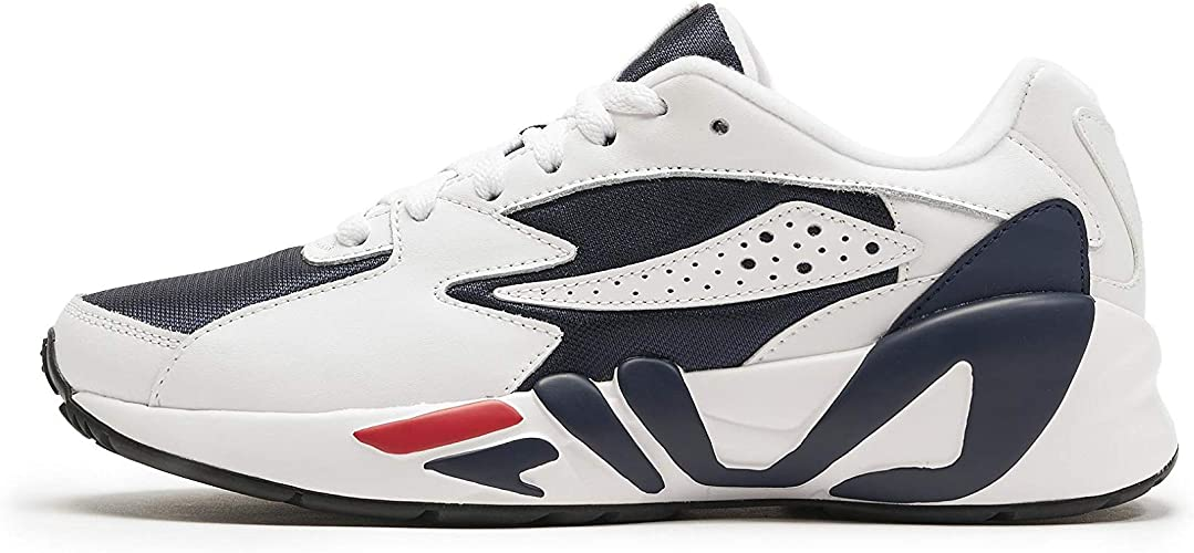 Fila Men's Mind Blower Sneaker,NavyWhite,12
