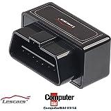 Lescars OBD-2-Profi-Adapter OD-250.ios, mit Wi-Fi für iPhone und iPad