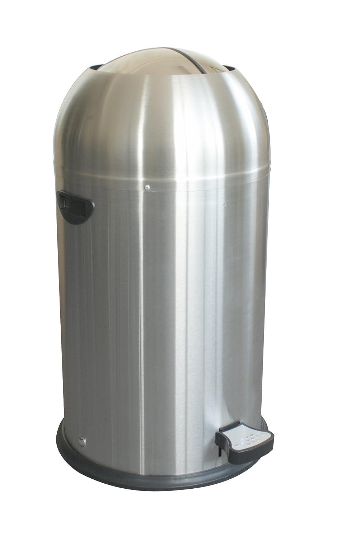 Butterfly Stainless Steel Kitchen Pedal Bin 33L steel body, soft ...