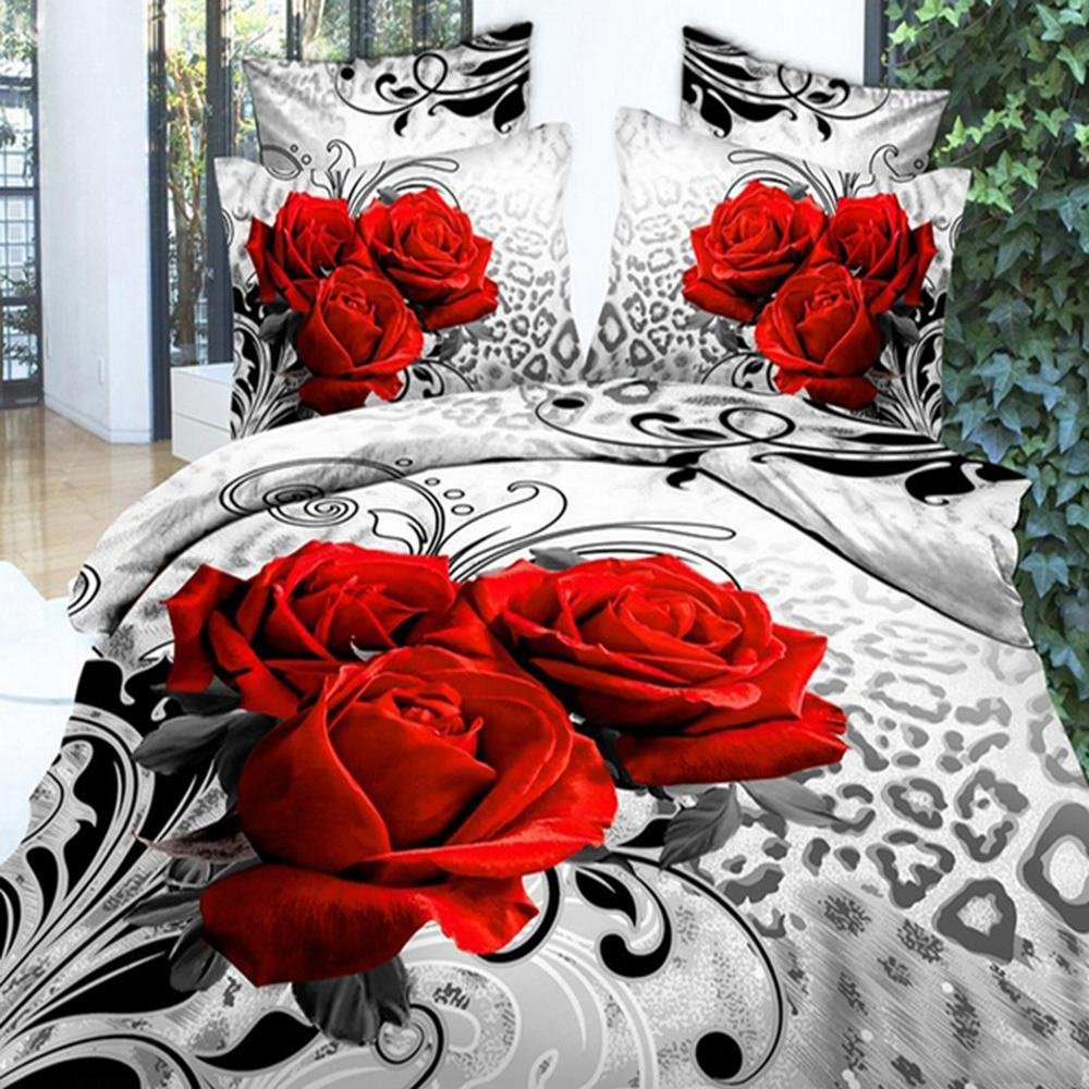 3D Flower Bedding Set