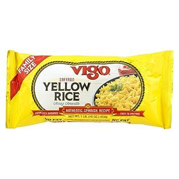 Amazon.com: Vigo amarillo arroz – Funda de 12 – 16 onzas ...