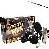 Rode NT2-A Set Kondensator Mikrofon + Keepdrum Mikrofonständer