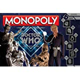 Doctor Who Villains Edition Monopoly Board Game