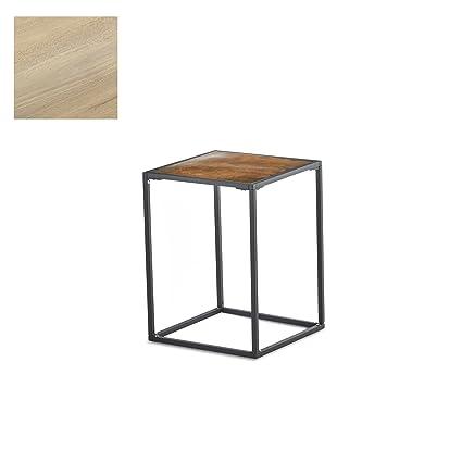 Side Table Teak.Amazon Com Design Ideas Pietra Teak Small Side Table Teak Wood And