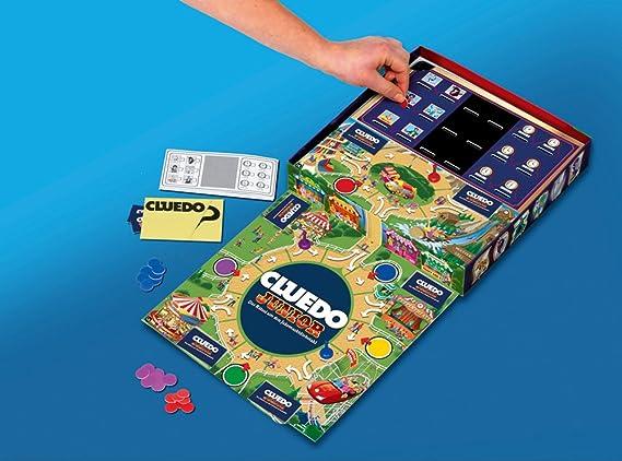 Hasbro 02013100 - Cluedo Junior (edición en alemán) [Importado de Alemania]: Amazon.es: Juguetes y juegos