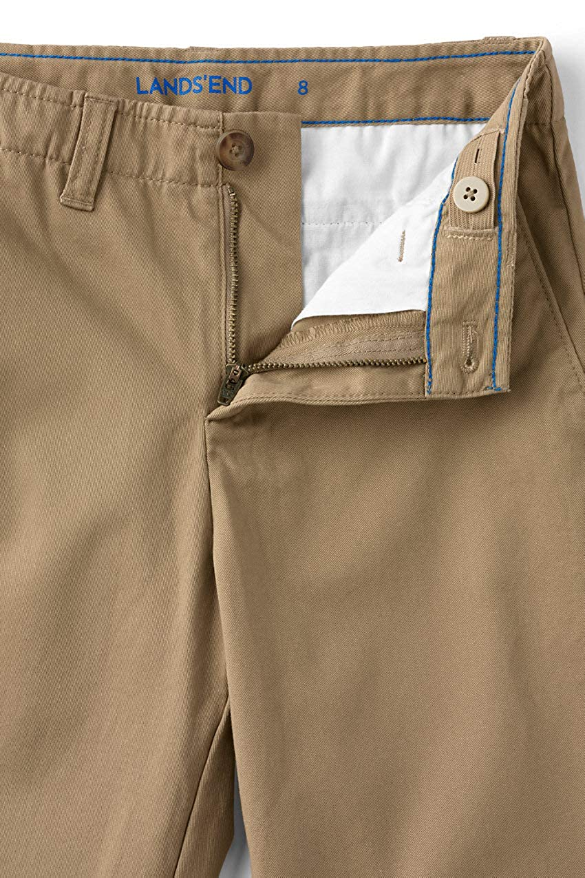 Lands End Boys Iron Knee Chino Cadet Pants