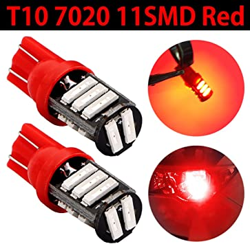 Pack of 10 TABEN Super Bright 450 Lumens T10//921//194//192//175//168//2825 RV Trailer White T10 LED Bulbs 11SMD-7020 12V Backup Reverse LED Replacement Lights Bulbs Dome Map Light Lamp 6000-6500K