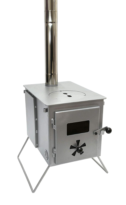 Outbacker® 'Firebox' Eco Burn – Sekundärbrennung tragbarer Zeltofen