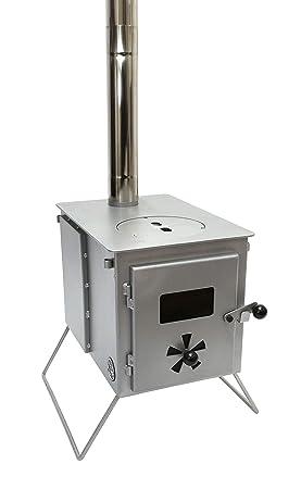 Outbacker® Firebox Eco Burn – Estufa portátil de Quemado secundario, ...