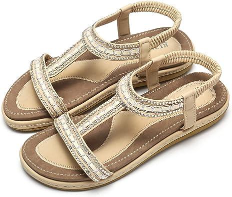 Nu pieds & Sandales Femme plates ou à talons
