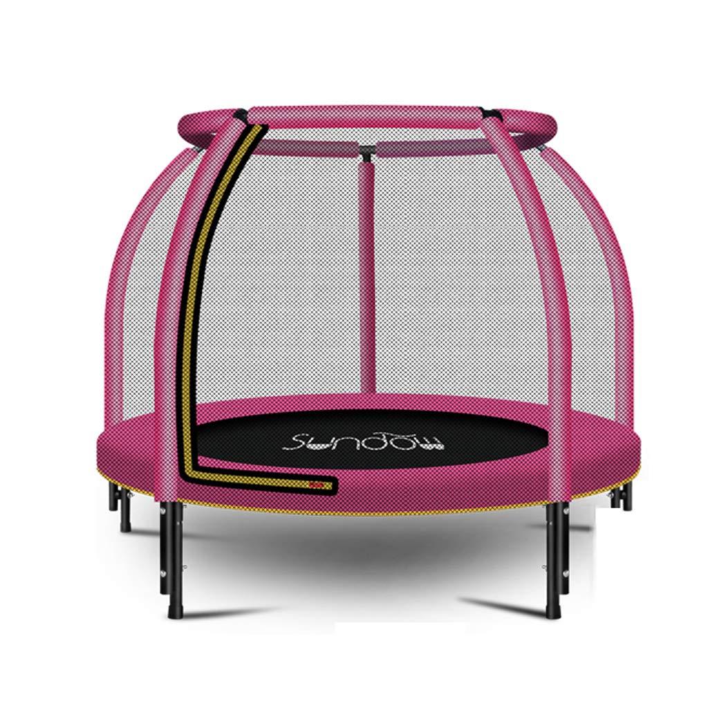 Unbekannt Lxn 48 Zoll Outdoor - und Indoor - Trampolin mit Schutznetz und Safety Jumping Mat Cover