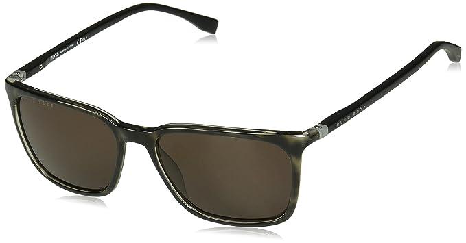 BOSS Hugo 0959/S - Gafas de sol para hombre, Gry/Brown, 56 ...
