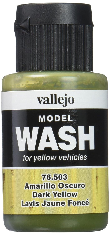 (VAL76503) - AV Model Wash 35ml - Dark Yellow Wash Vallejo VJ76503