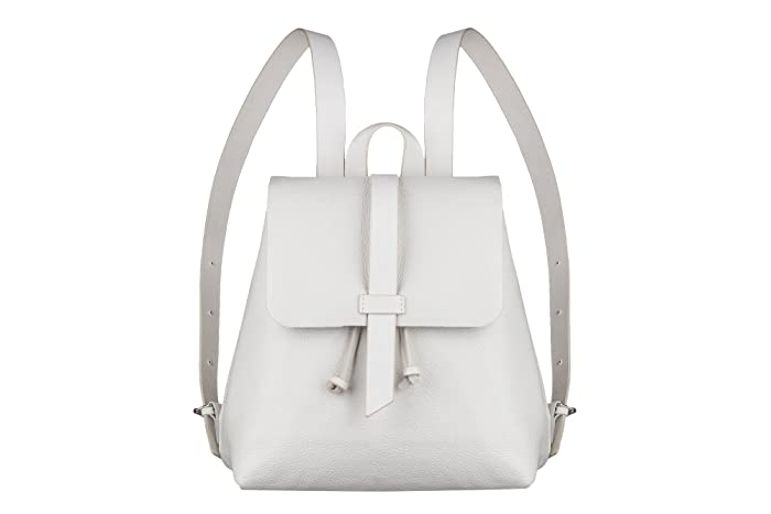 a8b6f27111 Amazon.com  Leather White backpack