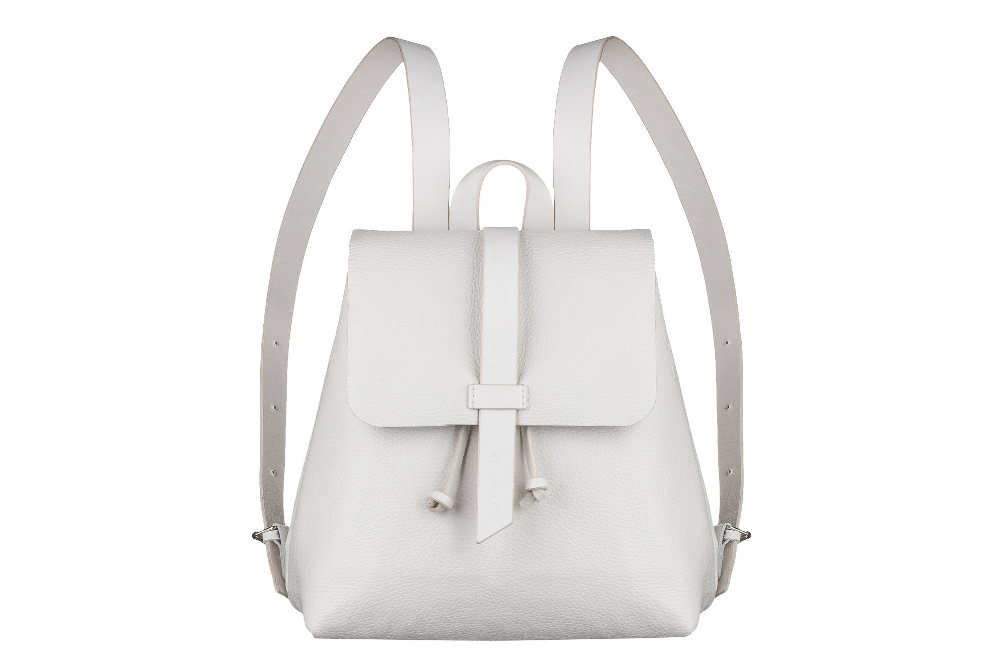 Leather White backpack, leather mini backpack, Leather Tote bag, women bag, woman small backpack, handmade backpack, women white backpack, school backpack