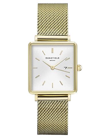Amazon.com: Rosefield Boxy QWSG-Q03 - Reloj analógico de ...