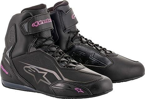 Noir//Fuchsia Alpinestars Bottes moto Stella Sektor Shoes Black Fuchsia 37