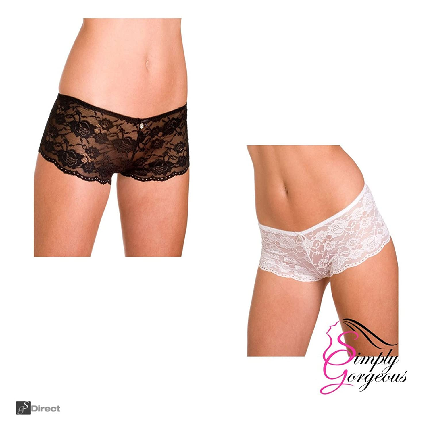Ladies French Knickers – Twin Pack Simply Gorgeous