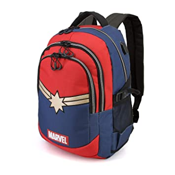 Karactermania Captain Marvel Powerful-Running HS Backpack Mochila Tipo Casual 44 Centimeters 21 (Multicolour): Amazon.es: Equipaje