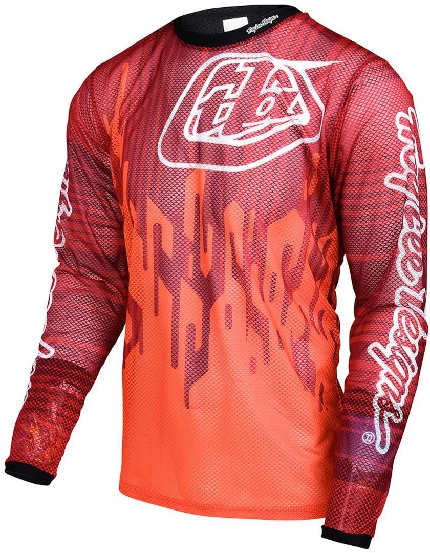 Troy Lee Designs Downhill-Jersey Sprint Air Orange Gr. XL