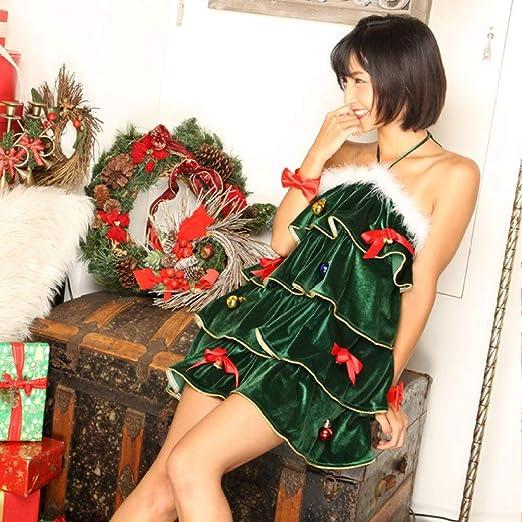 Olydmsky Vestido de Fiesta de Navidad Adultos Disfraz Navidad Bola ...