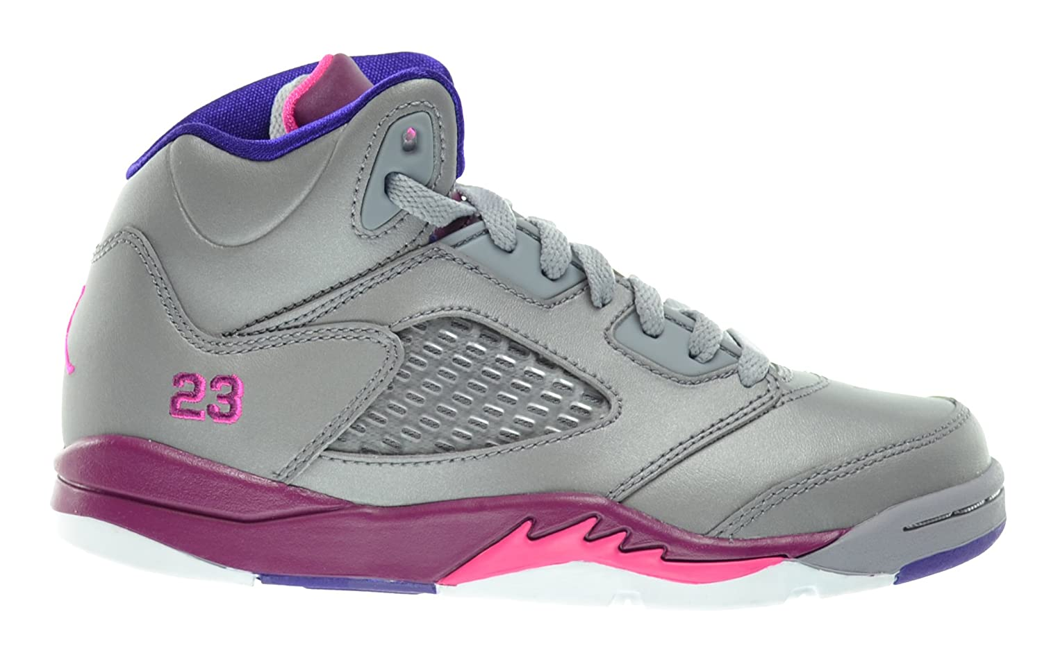 new product ce457 44d26 Girls Jordan 5 Retro (PS) Little Kids Basketball Shoes ...