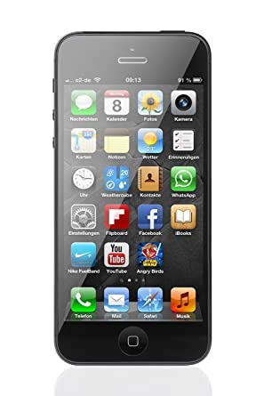 Apple IPhone 5 16 GB T Mobile Black