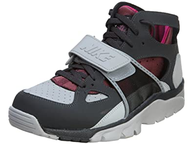 promo code 6544b 01aa1 Nike Air Trainer Huarache Mens Wolf Grey Pr Pltnm-frbrry-vlln R 6 D(M) US   Amazon.in  Shoes   Handbags