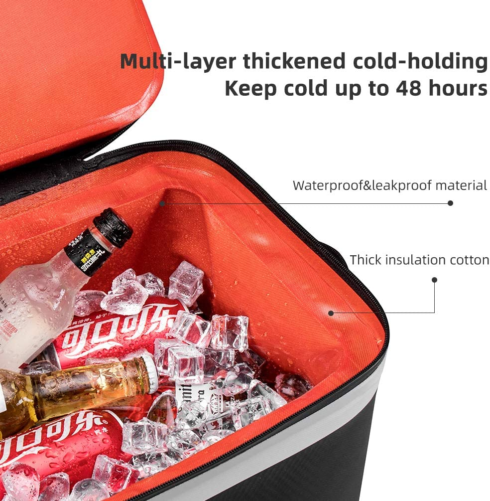 ROCK BROS Soft Cooler Bag Insulated Waterproof 30 CAN Large Cooler Bag Leak Proof Beach Bag with Cooler for Camping Picnic Fishing Boating Golf : Sports & Outdoors