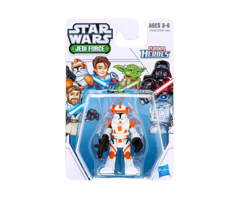 Playskool Heroes Star Wars Jedi Force Bundle R2-D2 Anakin Skywalker Yoda including: Clone Commander Cody Darth Vader /& Obi-Wan Kenobi Complete Set of 6