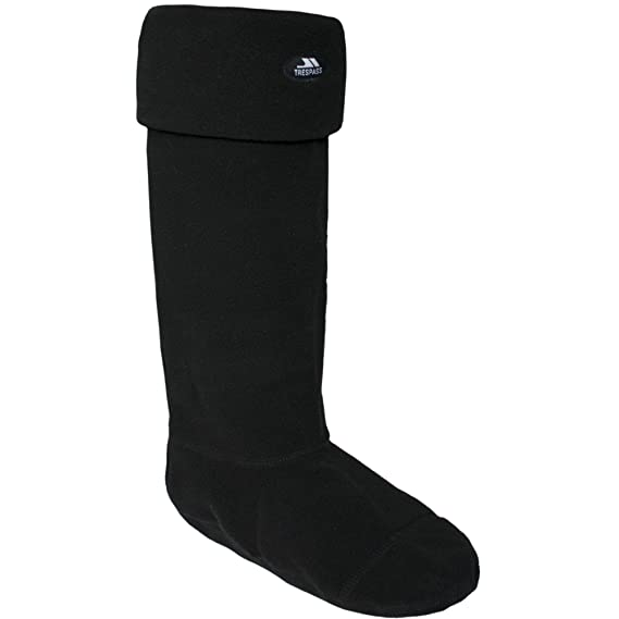 Trespass - Calcetines de forro polar para botas Wellington Modelo Snugz Adultos Unisex Hombre Mujer -