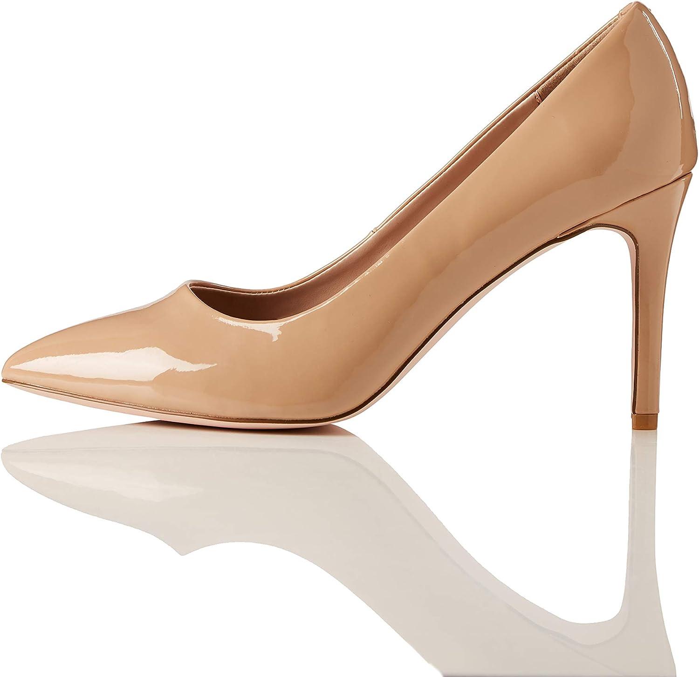 Scarpe donna Decolletè 42 Nero Camoscio Tacco Woman Shoes MADE ITALY Schuhe