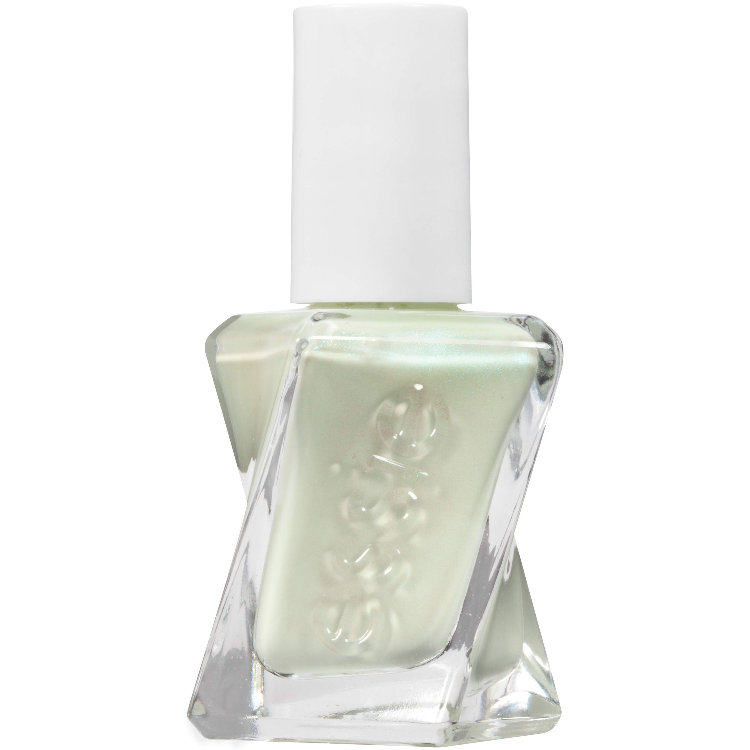 essie Gel Couture 2-Step Longwear Nail Polish, Zip Me Up, Mint Green Nail Polish, 0.46 fl. oz.