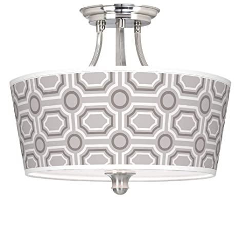 Amazon.com: Luxe - Lámpara de techo con tambor cónico: Home ...