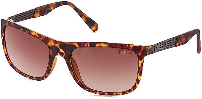 Amazon.com: Guess Mens GU6843 Moda anteojos de sol: Clothing