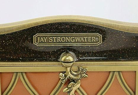 "JAY STRONGWATER NICOLA FRAME SPARKLING BRONZE COLOR SWAROVSKI NEW 3/""x4/"" NO BOX"