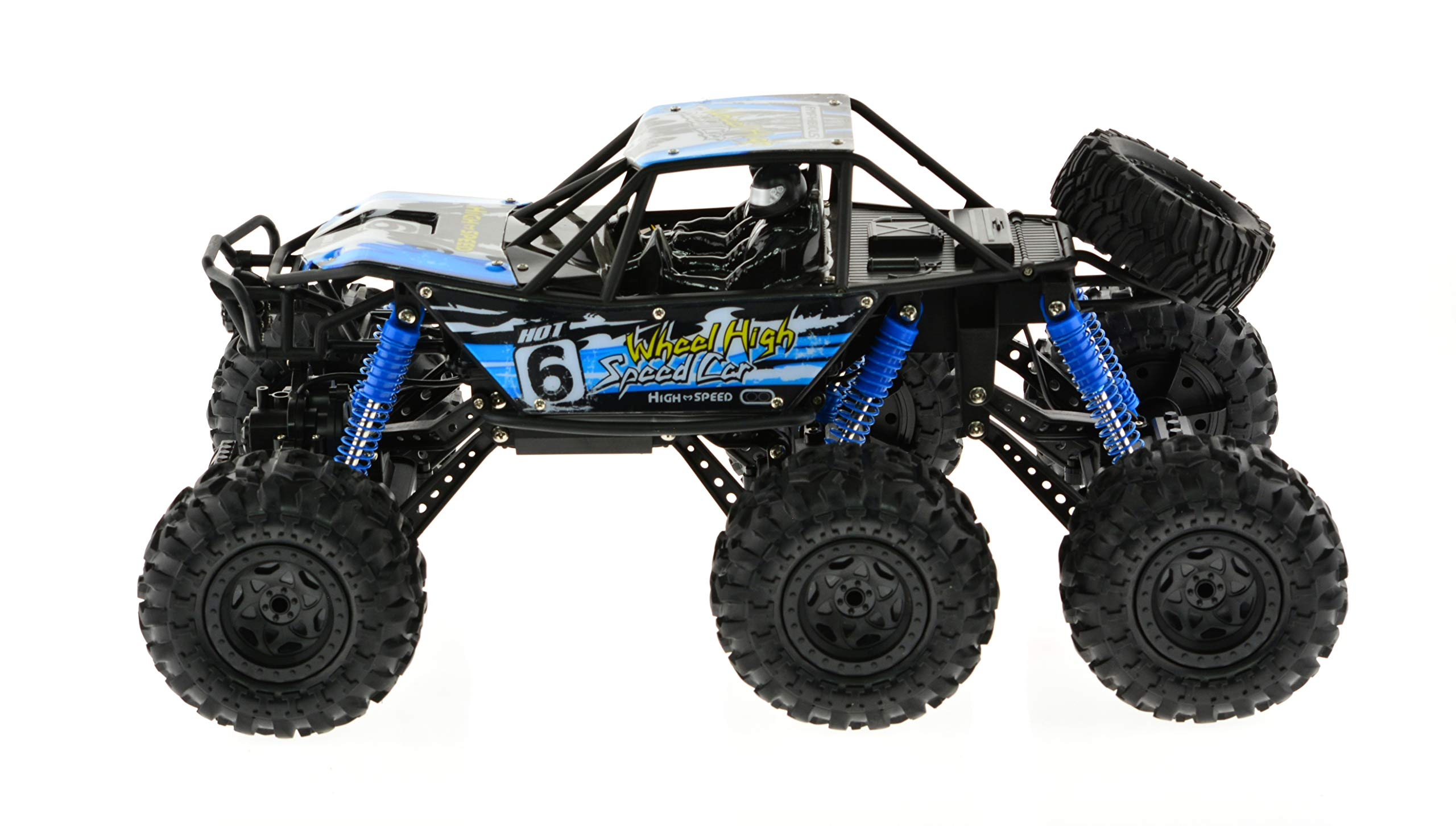 Extreem Hobby CIS-2680 1: 8 Scale 6WD Rock Climber Truck, One Size, Blue