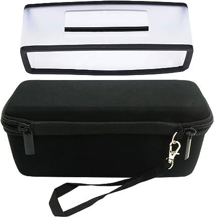 Carry Case Bag Soft Cover Skin For Bose-Soundlink Mini BT Speaker Black