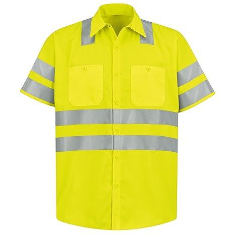 Brite Safety Style 230 Hi Vis Work Shirt   Short-Sleeve