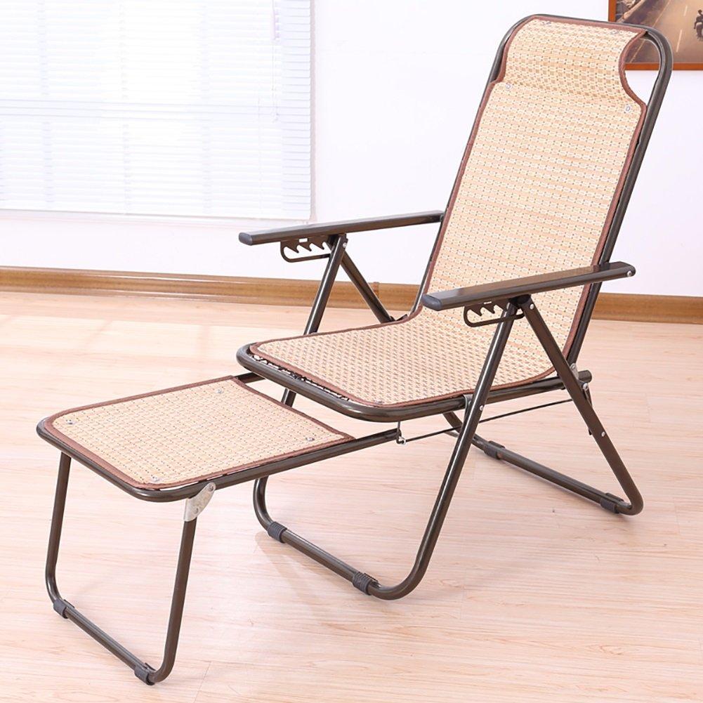 Bambus Rattan Napping Kühlen Stuhl Büro Freizeit Stuhl Klappliege Schwangere Frau Mittagspause Stuhl Im Freien Strandstuhl