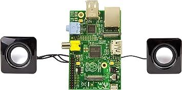 DURAGADGET Mini Altavoces par Toma USB para Ordenador Raspberry Pi ...